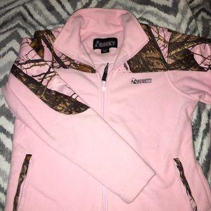 Womens Rocky Boots Fleece Jacket - M
